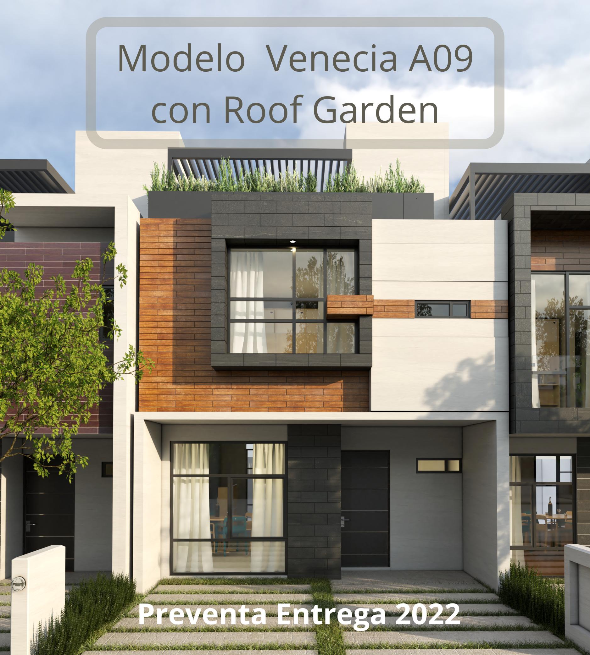Casas con Roof garden en morelia atozano